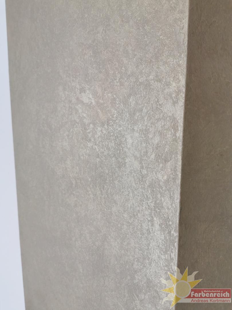Art Velluto - Dekorative, metallisch-schattierend wirkende Spachtelmasse mit Samteffekt