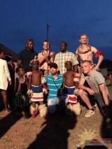 Auszubildender Jesse Kortmann im Projekt WOZA, Einsatz in Süd-Afrika