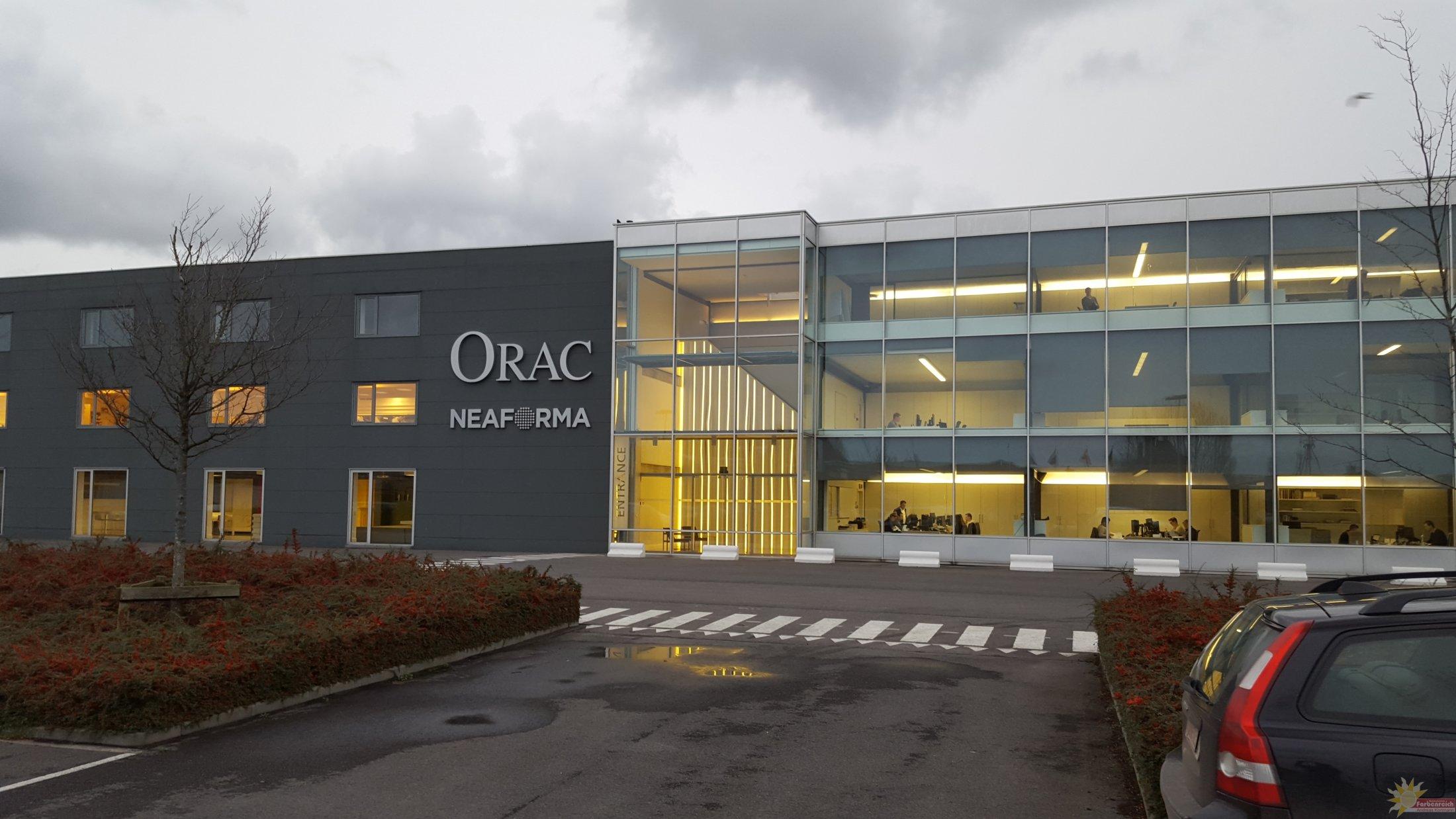 Orac Akademie beim Hersteller in Belgien