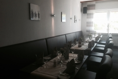 Baustellenabschluss Restaurant Haus Dieckmann