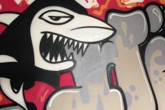 Graffiti-Kunst von uns organisiert